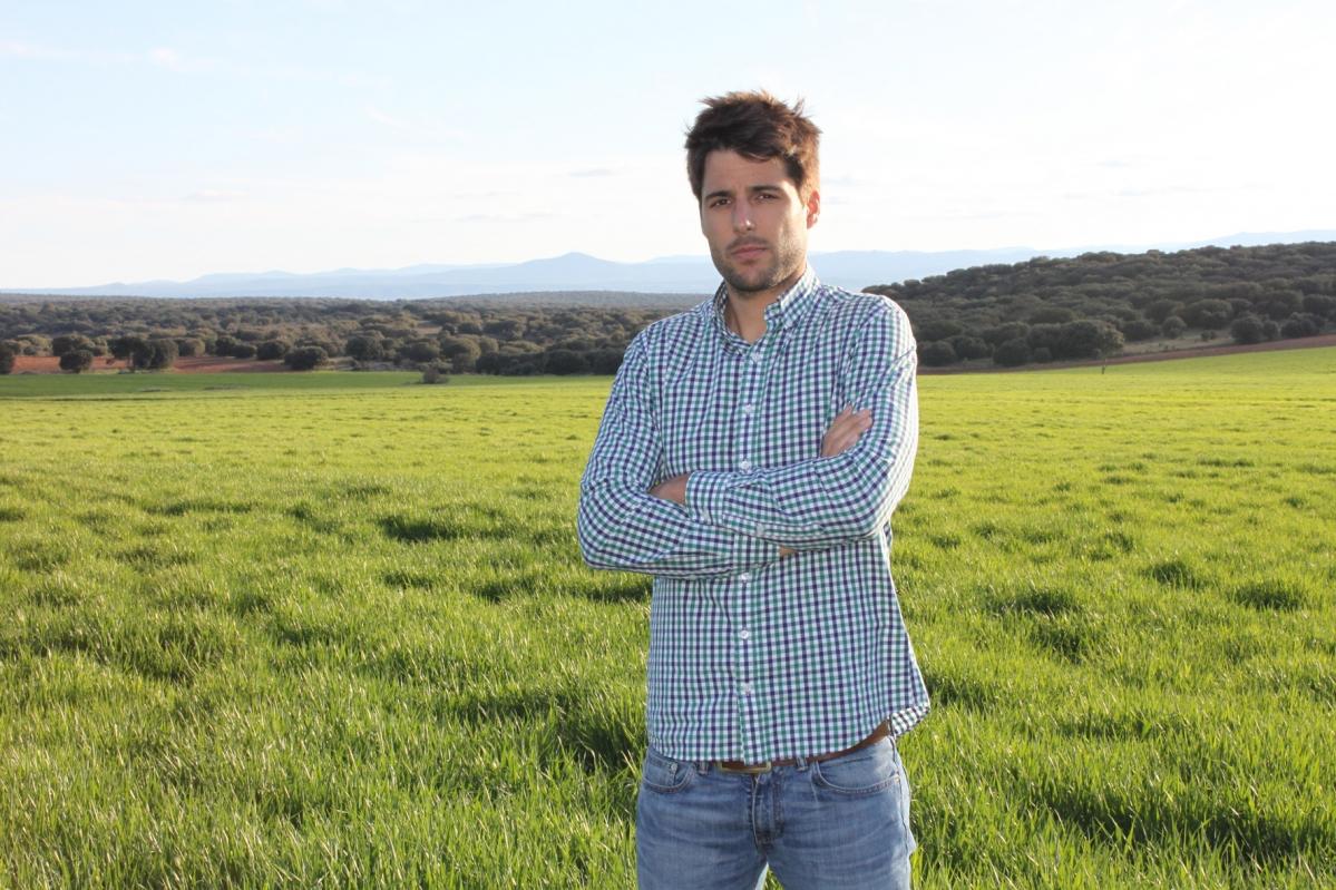 """Marcos Garcés: """"Como agricultor tienes calidad de vida"""""""