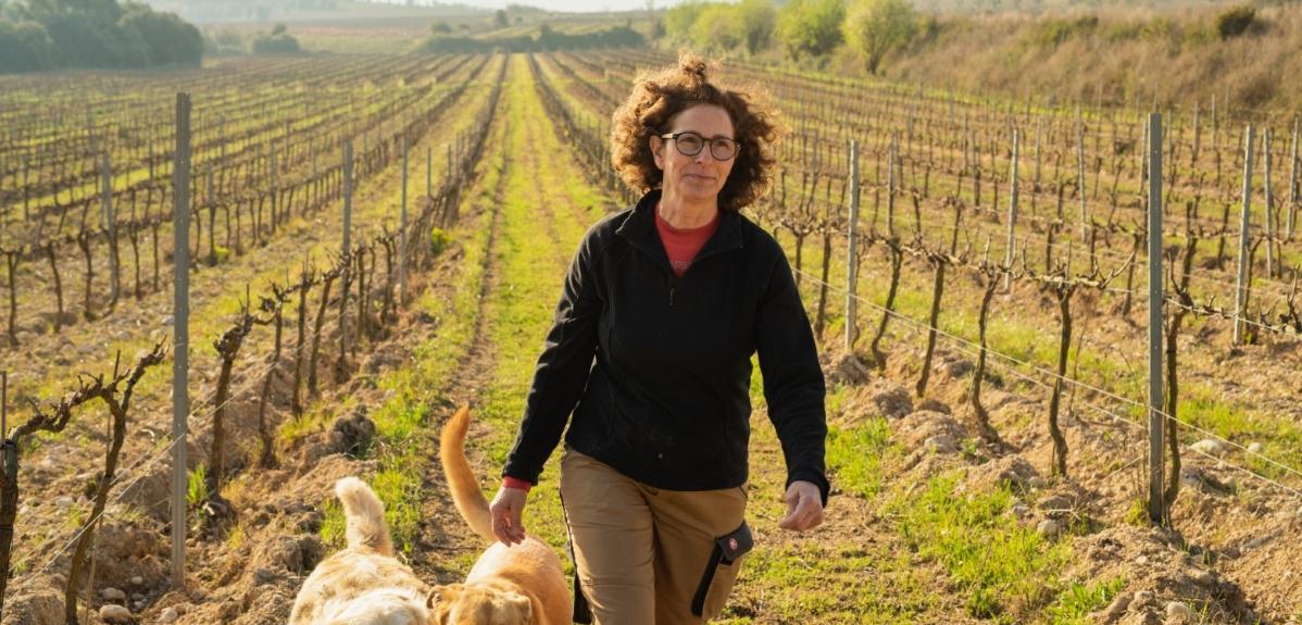 De bióloga a viticultora biodinámica: una historia de innovación sostenible y saludable